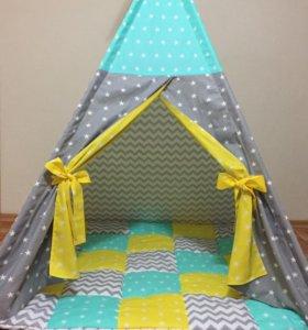 Вигвам, палатка, домик, шалашик