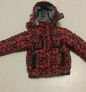 Куртка зимняя 104см