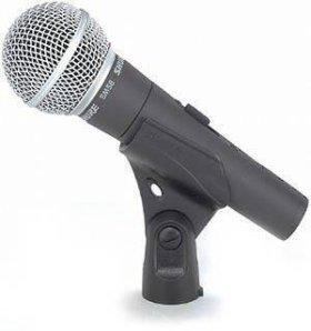 Микрофон SHURE SM58S оригинал
