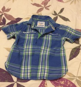 Рубашка в клетку фирмы Mothercare