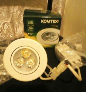 Светодиодные светильники.