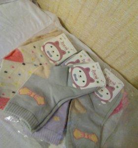Носочки, новые