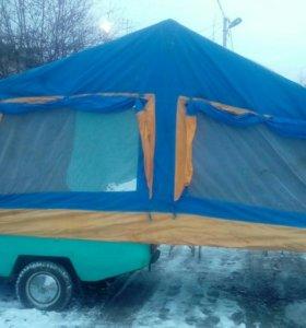 Скиф прицеп палатка