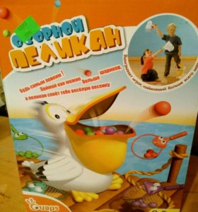 Игрушка Озорной пеликан