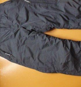 новые штаны теплые с лямками
