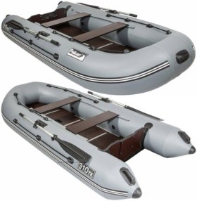 Лодка ПВХ с мотором.