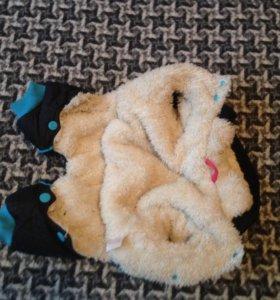 Зимний комбинезон для маленьких собачек