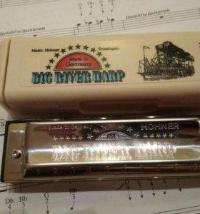 НОВЫЙ НАБОР Губная гармоника Hohner Big River Harp