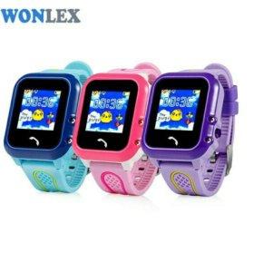 Детские часы с GPS W9 или GW400e водостойкие