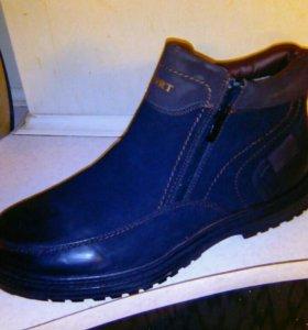 Новые зимние ботинки больших размеров