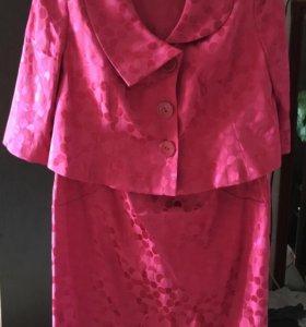 Костюм - платье с жакетом
