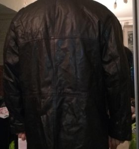 Куртка мужская натуральная кожа 54-56 р