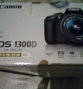 Canon EOS 1300D KIT 18-55III