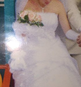 "Свадебное платье ""Ракушка"" 42-44"