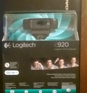 Вебкамера logitech c920