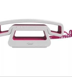 Телефон SwissVoice CH01 White/Pink