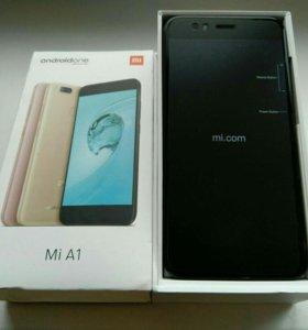 Xiaomi Mi A1 4/64 Gb чёрный (новый,доставка)