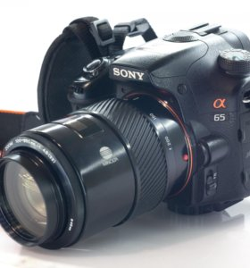 Комплект Sony A65, объективы, вспышка, пульты и тд