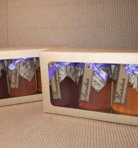 Подарок. Набор три мёда.