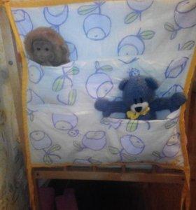 Кармашки на детскую кроватку.