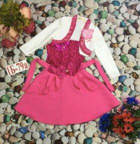 Платье в садик