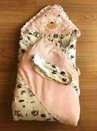 Одеяло-конверт для малышки