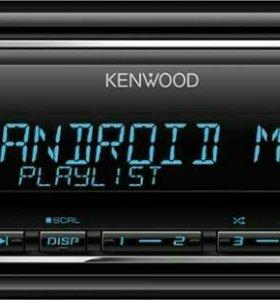 Магнитола Kenwood kmm-121y