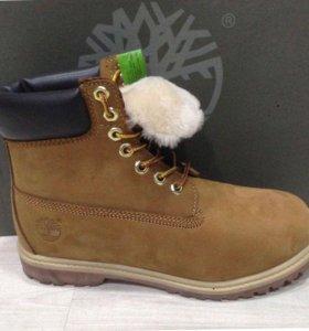 Прекрасные ботиночки Тимберленд - натуральные