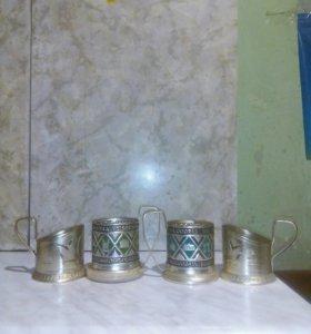 Подставка для стакана антиквариат