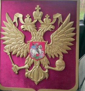 Резной герб