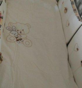 Детская кроватка маятник.