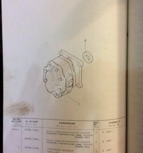 Насос коробки передач на каматцу-355 - 155.