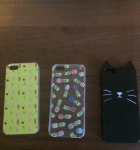 Чехлы на iPhone 5 es