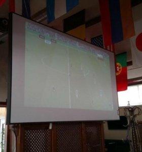 Экран для проектора большой