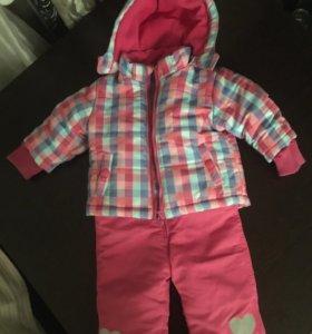 Комбинезон ( куртка и штаны зимние)