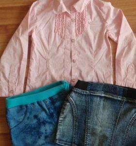 Рубашка и две юбочки, для моднице