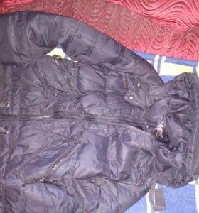 Зимние курточки детские