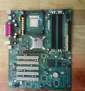 Материнская плата Intel D865PERL + Pentium IV