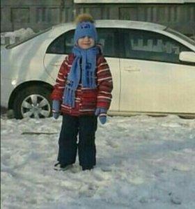 Набор для мальчика. Зима.