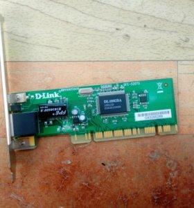 Сетевая плата Dlink DFE -520TX