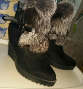 Ботинки 40 р-р зима