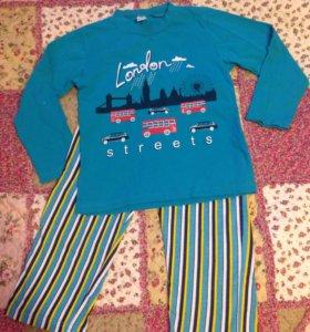 Пижама для мальчика рост 104
