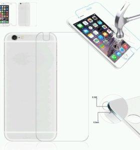 Защитное стекло на iphone 6plus