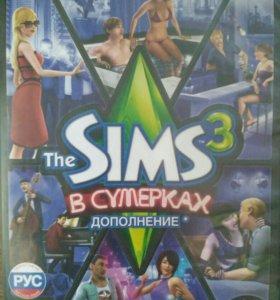 Sims 3 + три дополнения (лицензия)
