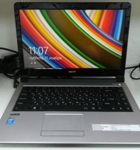 """Новый ноутбук Dexp 14"""""""
