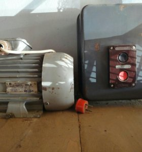 Советский однофазный электродвигатель