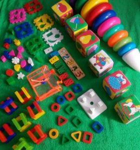 развивающие игрушки от 6 мес до 5 лет