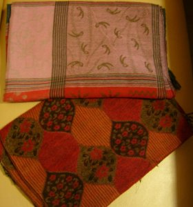 Теплые новые шарфы