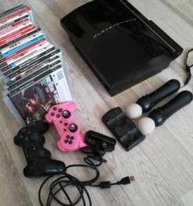 Sony Playstation 3 (PS 3) +3 игры.