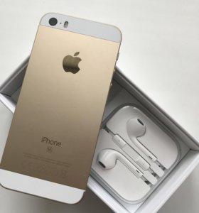 Продам Iphone 5SE 64 Гб золотистый